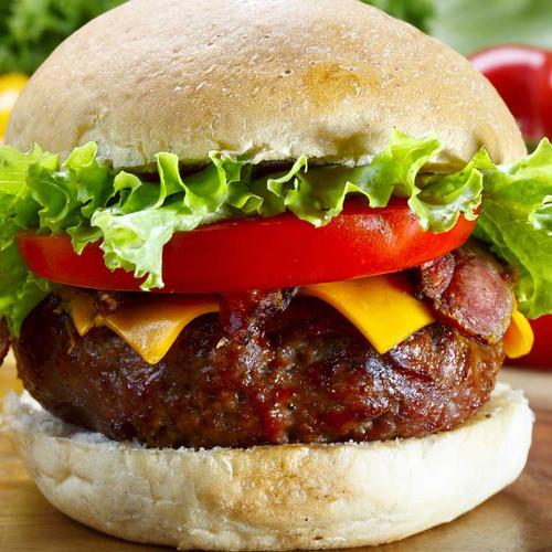 Bison burgers 8 oz each