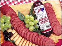 Traditional Bison Summer Sausage