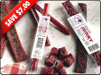 Sayersbrook Bison Jerky Sampler Sale