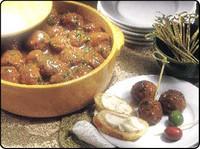Bison Swedish Meatballs