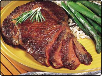 buffalo ribeye steak