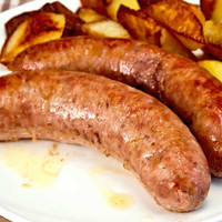 sausage with potatoes