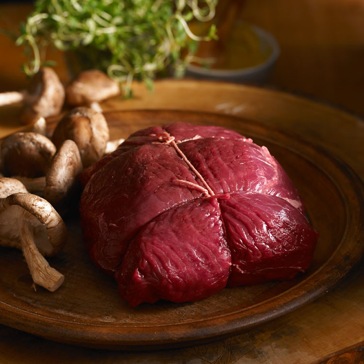 Inside elk  chuck roast
