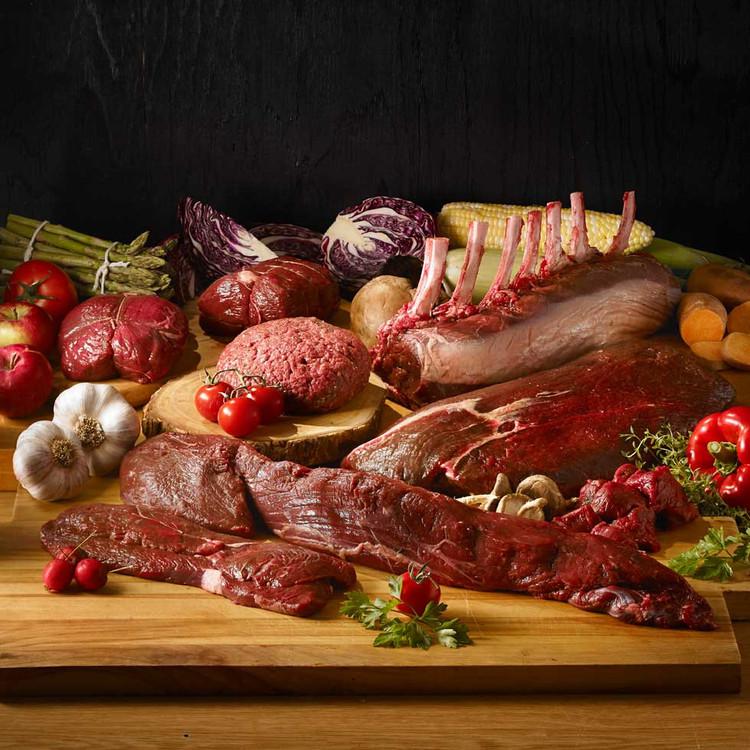 elk meat cuts