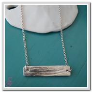 Driftwood Bar Necklace