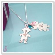 Little Boy/Girl necklace