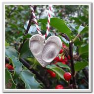 Fingerprint Christmas Ornament