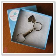 Single Fingerprint Keychain