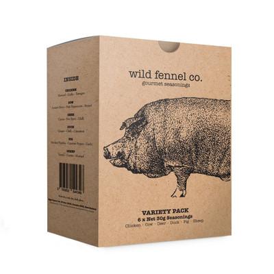 Wild Fennel Co. Gourmet Seasoning Variety Pack