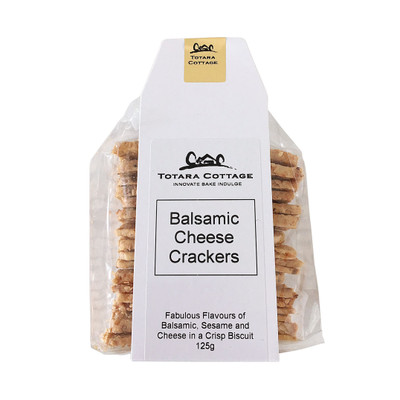 Totara Cottage Balsamic Cheese Crackers