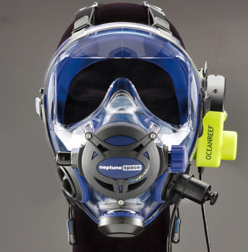 G.divers Full Face Mask + GSM G.divers - Colbalt