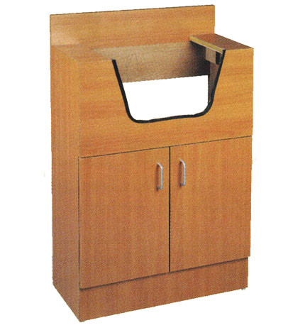 Pibbs shampoo cabinet with sink a1a facial salon equipment for A1a facial salon equipment