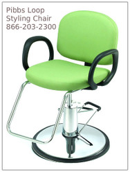Pibbs 5406 'Loop' Styling Chair
