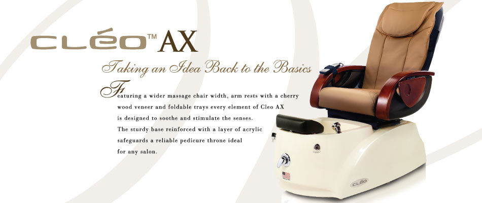 Cleo ax pedicure spa a1a facial salon equipment for A1a facial and salon equipment