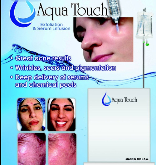 Aqua touch exfoliation serum infusion a1a facial for A1a facial salon equipment