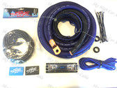 Sky High Car Audio 1/0 CCA Amp Kit