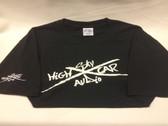 SHCA X Logo T-Shirt Black w/ White Logo