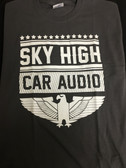 SHCA Eagle Logo T-Shirt Grey w/ White