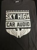 SHCA Eagle Logo T-Shirt Grey w/ White