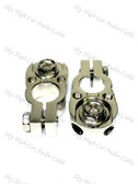 PAIR Battery Terminal Ring Terminal/ (2) 8 ga Output Set Screw SAE Post
