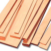 Raw Copper buss Bar Material