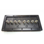 "SMD 4 Channel Speaker Terminal (Grade 8) 3/4"" PVC (Black)"