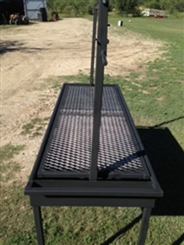 High Quality Charcoal Grill With Adjustable Grill Grate Click Here To Enlarge