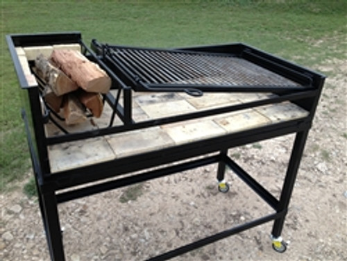 Uruguayan Grill with Cart