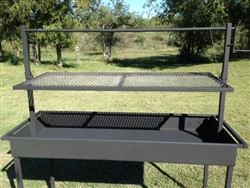 Elegant Charcoal Grill With Adjustable Grill Grate Click Here To Enlarge
