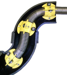 """Roller Skid for  Video Pipe Inspection 3"""" lines"""