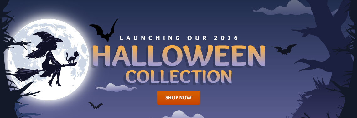 Launching our 2016 Halloween Colletion