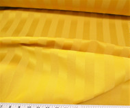 Discount Tablecloth Fabric Brocade Satin Stripe Gold 38DR