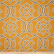 Discount Fabric Richloom Upholstery Drapery Malibar Apricot Geometric 44MM
