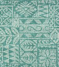 Discount Fabric Richloom Solarium Indoor Outdoor Danul Patina Green Tribal 11NN