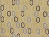 Discount Fabric Richloom Upholstery Drapery Devi Citrus Geometric Jacquard 43NN