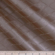 Fabric Richloom Tough Faux Leather Pleather Vinyl Hovland Copper Diamond 41PP