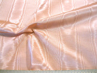 Discount Fabric Moire` Bengaline Faille Dark Peach 144MR
