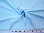 Discount Fabric Light Weight Soft Lycra /Spandex 4 way stretch Baby Blue 713LY
