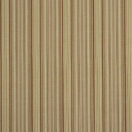 Fabric Robert Allen Beacon Hill Hancock Stripe Teak Linen Wool Drapery 12HH