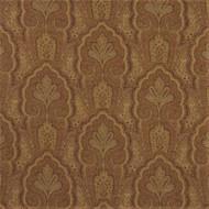 Fabric Robert Allen Beacon Hill Ashland Clay Linen Wool Floral Drapery 40HH