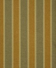 Fabric Robert Allen Beacon Hill Tamora Cognac Juniper Silk Striped Drapery 44JJ