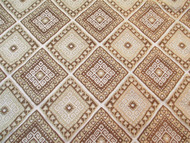 Fabric Robert Allen Beacon Hill Malvinas Teak Silk Tribal Aztec Drapery 40II