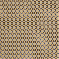Fabric Robert Allen Beacon Hill Anillos Teak Embroidered Tapestery Circles 40JJ