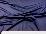 Discount Fabric Polyester Lycra /Spandex 4 way stretch Navy 951LY