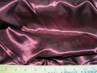 Discount Fabric Satin Taffeta Burgundy 65 inches wide 97SA