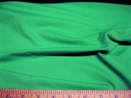 Discount Fabric Polyester Lycra /Spandex 4 way stretch Solid Grass Green 930LY