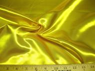 Discount Fabric Satin Taffeta Sun Yellow 64 inches wide 22SA