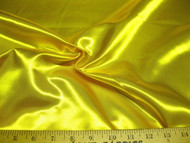 Discount Fabric Satin Taffeta Sun Yellow 64 inches wide 22SA