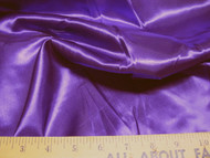 Discount Fabric Satin Taffeta Purple 65 inches wide 21SA