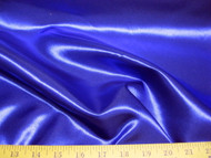 Discount Fabric Satin Taffeta Royal Blue 65 inches wide 24SA